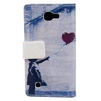 Style peňaženkové puzdro pre LG K4 - dievčatko - 2/5