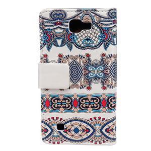 Style peňaženkové puzdro pre LG K4 - pattern - 2