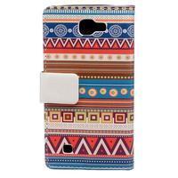 Style peňaženkové puzdro pre LG K4 - tribal - 2/5
