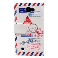 Style peňaženkové puzdro pre LG K4 - mail - 2/4