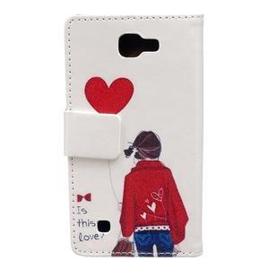 Style peněženkové pouzdro na LG K4 - láska - 2