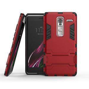 Outdoor odolný kryt pre mobil LG Zero - červený - 2