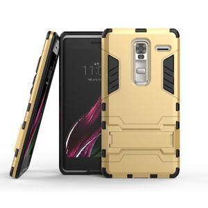 Outdoor odolný kryt na mobil LG Zero - zlatý - 2