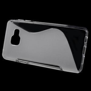 S-line gélové obal pre mobil Samsung Galaxy A3 (2016) - transparentný - 2