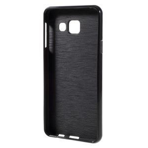 Gélový obal pre mobil Samsung Galaxy A3 (2016) - čierný - 2