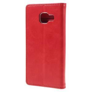 Mercury peňaženkové puzdro pre Samsung Galaxy A3 (2016) - červené - 2
