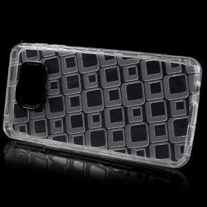 Square gélový obal na mobil Samsung Galaxy A3 (2016) - transparentný - 2