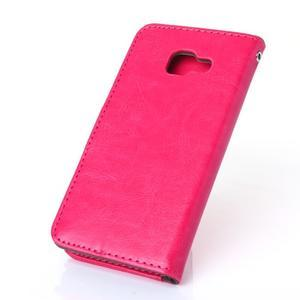 Wallet puzdro pre mobil Samsung Galaxy A3 (2016) - rose - 2