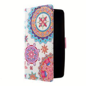 Peňaženkové puzdro na mobil Lenovo A536 - mandala - 2