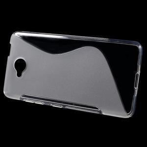 S-line gélový obal na mobil Microsoft Lumia 650 - transparentný - 2