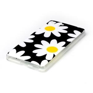Style gélový obal pre Sony Xperia M5 - daisy - 2