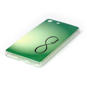 Style gélový obal pre Sony Xperia M5 - love - 2