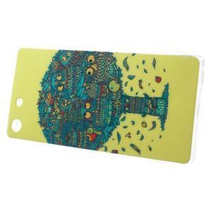 Gélový obal pre mobil Sony Xperia M5 - strom sovičiek - 2