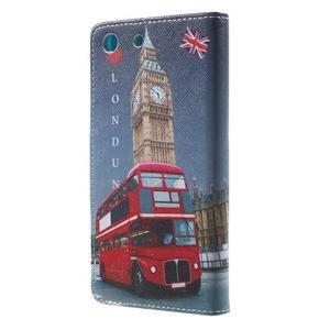 Stand Peňaženkové puzdro pre Sony Xperia M5 - Big Ben - 2