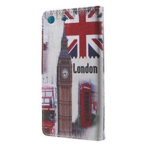 Stand peněženkové pouzdro na Sony Xperia M5 - UK Big Ben - 2