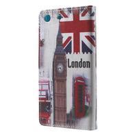 Stand peněženkové pouzdro na Sony Xperia M5 - UK Big Ben - 2/7