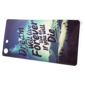 Gélový obal pre mobil Sony Xperia M5 - dream - 2