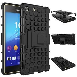 Outdoor odolný kryt pre mobil Sony Xperia M5 - čierny - 2