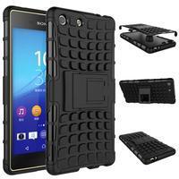Outdoor odolný kryt pre mobil Sony Xperia M5 - čierny - 2/2
