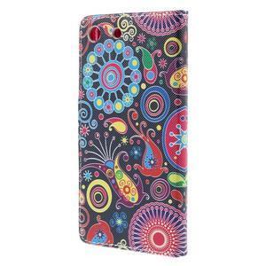 Crafty Peňaženkové puzdro pre Sony Xperia M5 - magic - 2