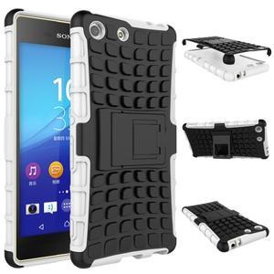 Outdoor odolný kryt pre mobil Sony Xperia M5 - biely - 2