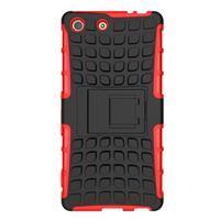 Outdoor odolný kryt na mobil Sony Xperia M5 - červený - 2/6