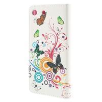 Crafty Peňaženkové puzdro pre Sony Xperia M5 - motýľe - 2/7
