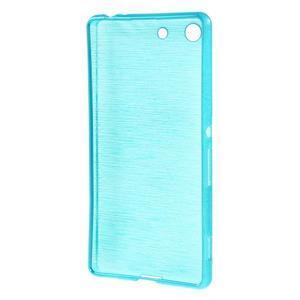 Brush gelový obal pro Sony Xperia M5 - modrý - 2