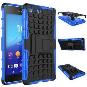 Outdoor odolný kryt pre mobil Sony Xperia M5 - modrý - 2