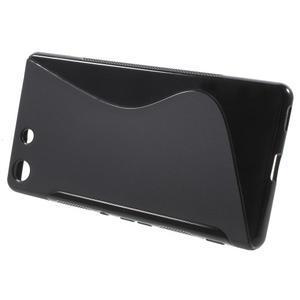 S-line gelový obal na mobil Sony Xperia M5 - černé - 2