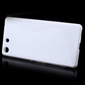 S-line gelový obal na mobil Sony Xperia M5 - bílé - 2