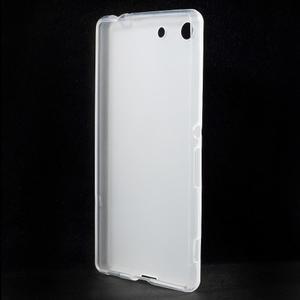 Matný gélový kryt pre Sony Xperia M5 - transparentné - 2