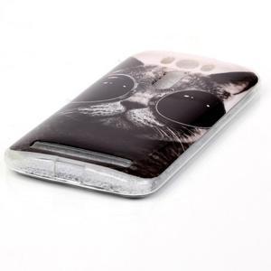 Softy gelový obal na mobil Asus Zenfone 2 Laser - cool kočka - 2