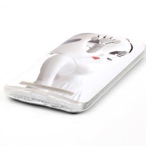 Softy gelový obal na mobil Asus Zenfone 2 Laser - kočička - 2