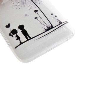 Softy gelový obal na mobil Asus Zenfone 2 Laser - láska - 2