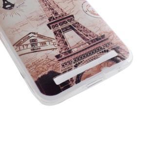 Softy gelový obal na mobil Asus Zenfone 2 Laser - Eiffelova věž - 2