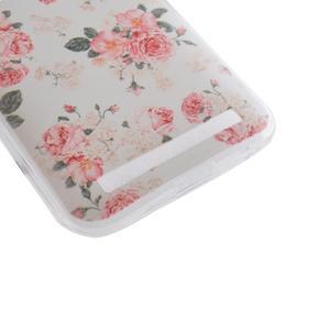 Softy gelový obal na mobil Asus Zenfone 2 Laser - květinová koláž - 2