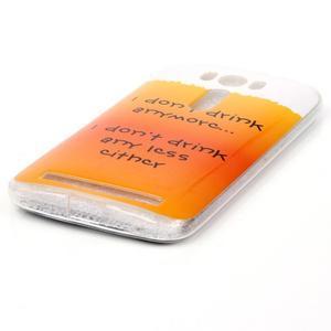Softy gelový obal na mobil Asus Zenfone 2 Laser - drink - 2