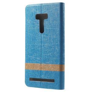 Lines puzdro na mobil Asus Zenfone Selfie ZD551KL - svetlo modré - 2