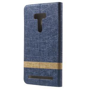 Lines puzdro pre mobil Asus Zenfone Selfie ZD551KL - tmavo modré - 2