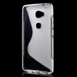 S-line gelový obal na mobil Honor 5X - šedý - 2