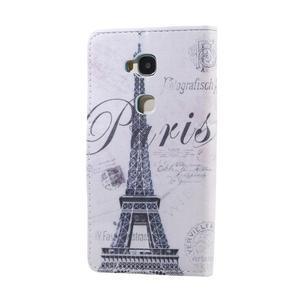 Knížkové pouzdro na mobil Honor 5X - Eiffelova věž - 2
