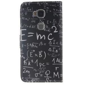 Peněženkové pouzdro pro mobil Honor 5X - vzorečky - 2