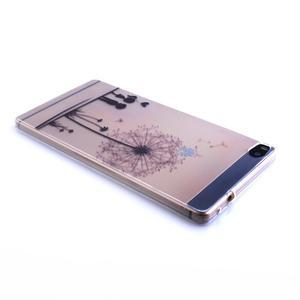 Ultra tenký slim obal na Huawei Ascend P8 Lite - pampeliška - 2