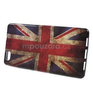 Gelový obal Style na Huawei Ascend P8 Lite - UK vlajka - 2
