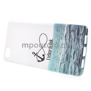 Gelový obal Style na Huawei Ascend P8 Lite - ocean - 2