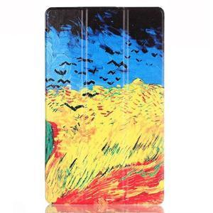 Třípolohové pouzdro na tablet Huawei MediaPad M2 8.0 - olejomalba - 2