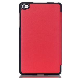 Trifold polohovatelné puzdro na tablet Huawei MediaPad M2 8.0 - červené - 2