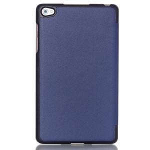Trifold polohovateľné puzdro na tablet Huawei MediaPad M2 8.0 - tmavo modré - 2
