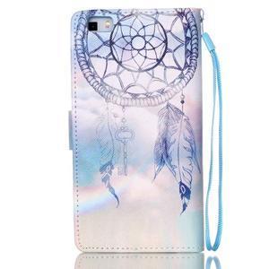 Picture PU kožené pouzdro na Huawei P8 Lite - lapač snů - 2
